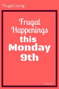 There is a buzz all around as the frugal living is catching on! We have pledged to write a post every day of the Easter school break in order to show what activities we get up to, but also how we manage to do so well and have so much fun without paying out too much.