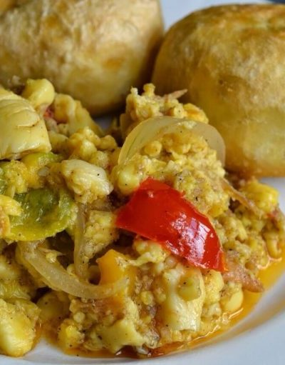Jamaican Ackee and Saltfish ( Vegan Version)