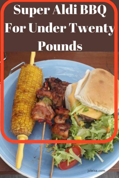 Super Aldi BBQ For Under Twenty Pounds