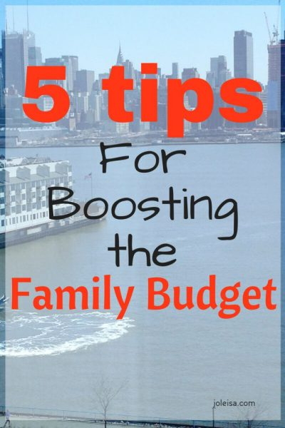 Five Frugal Tips for Boosting Your Budget