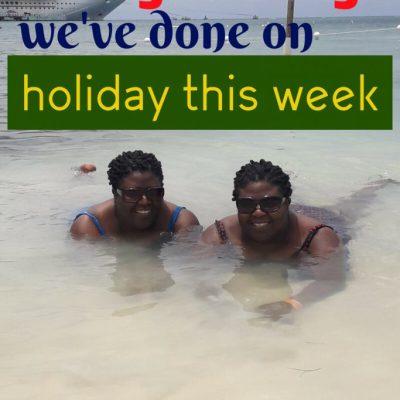 Frugal Things We've done in Jamaica this Week