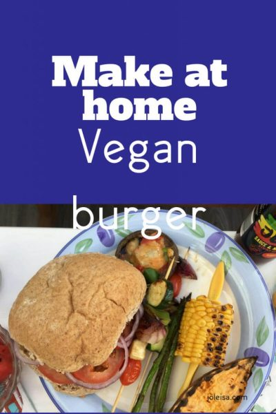 Delicious Make at Home Vegan Burgers