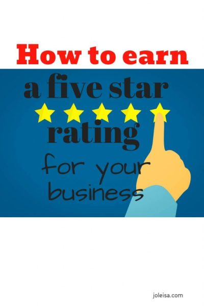 How to Earn a Five Star Rating With Your Business