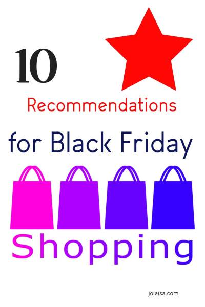 Ten Personal Recommendations for Black Friday This Year