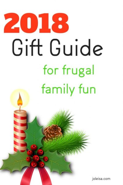 2018 Gift Guide for Frugal Family Fun