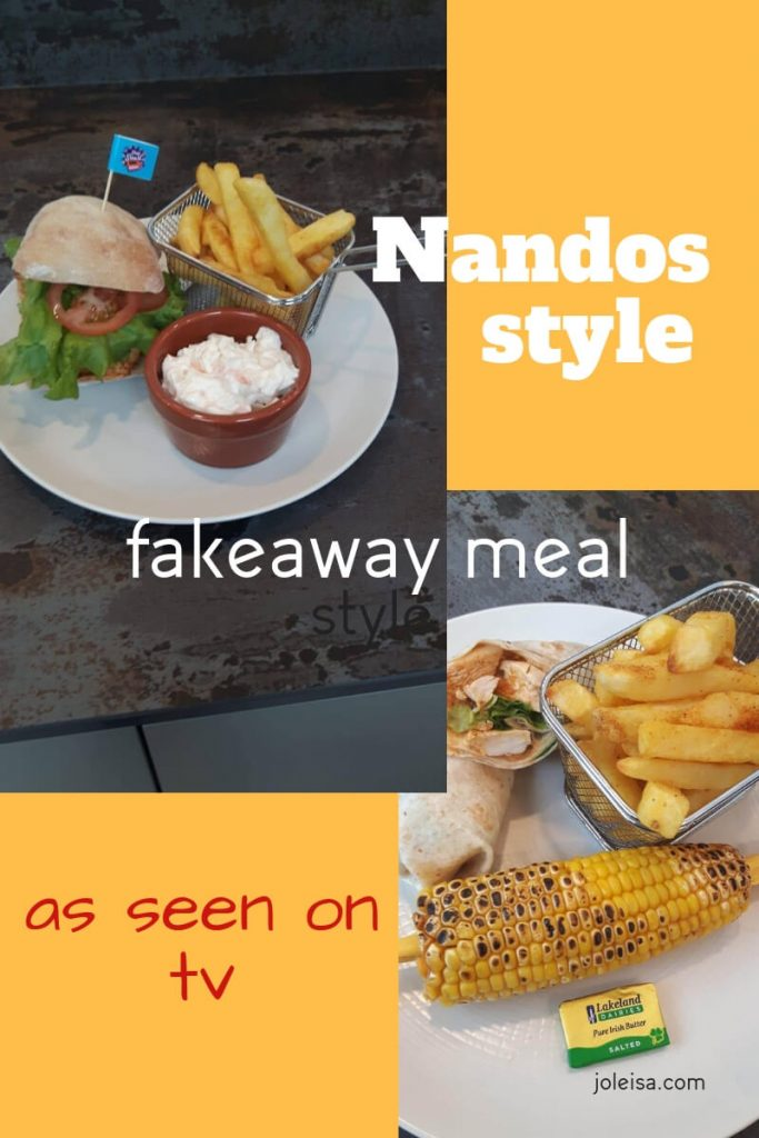 Look no further. See how to make your own cheeky Nandos style meal at home. The same one made by Joleisa on the TV show Shop Smart, Save Money. Pin to save.