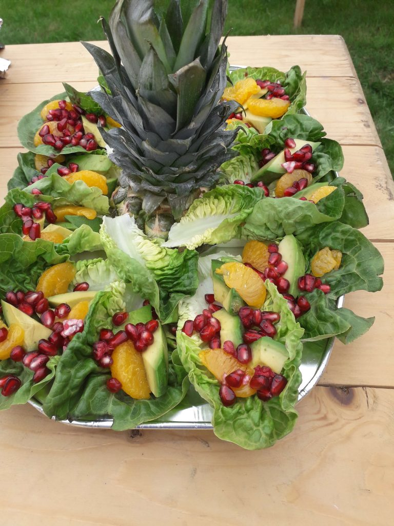 Here's a great BBQ summer salad idea