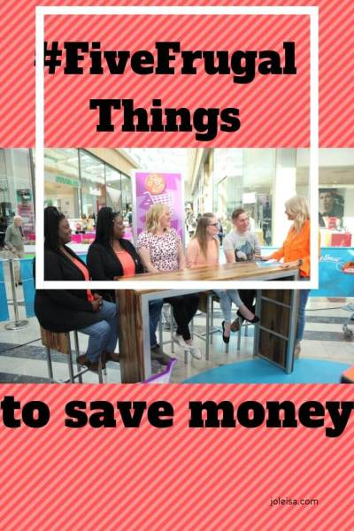 Five Frugal Things We've Done This Week to Save Money
