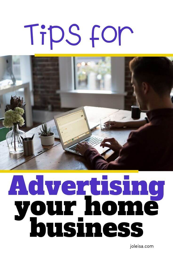 advertising your home business