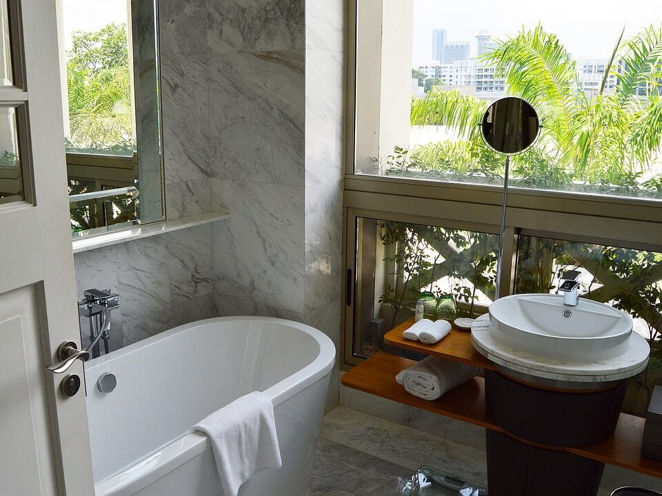 Bathroom upgrade to ease buyer's remorse