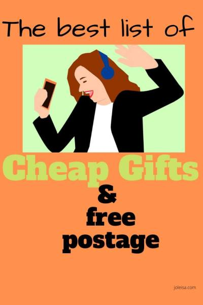 The Best List of Cheap Gifts (Under £2 and Free Postage)