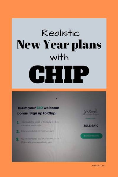 Make Realistic New Year Plans With Chip (AD)