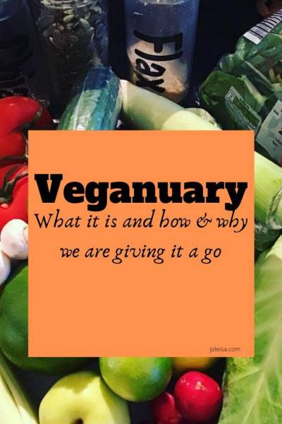 Veganuary? What is it and Why We are Giving it a go.