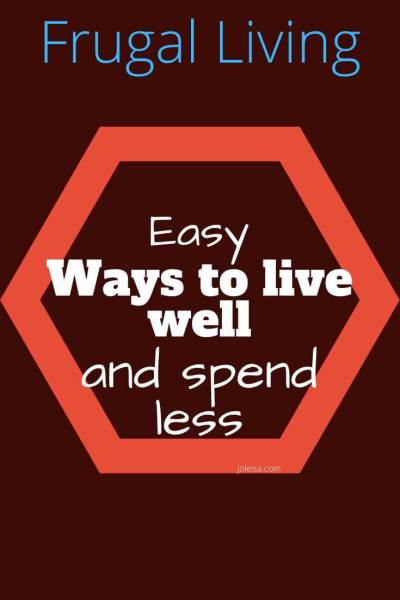 Easy Ways to Live Well (And Spend Less)