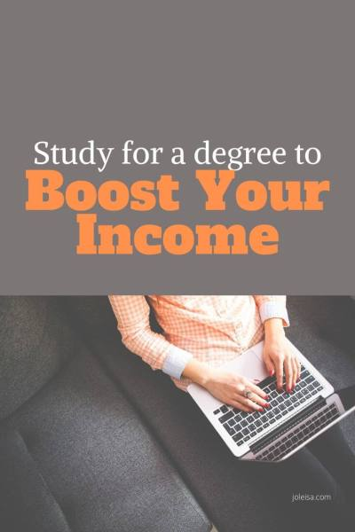 Study for a Degree and Boost Your Income