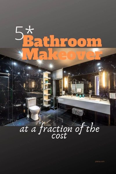 Our Five Star Low Cost Bathroom Makeover