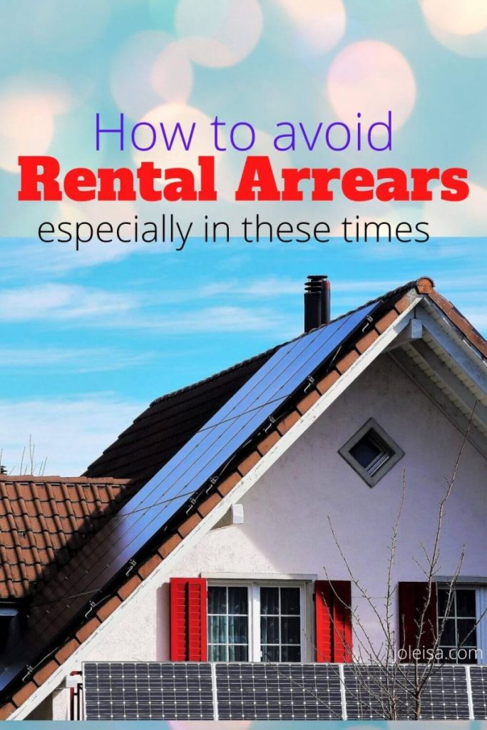 how to avoid rental arrears