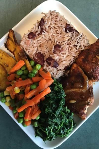 Authentic Jamaican Rice and Peas