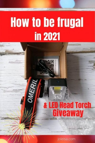 Five Tips on Being Frugal in 2021 Plus a Freebie