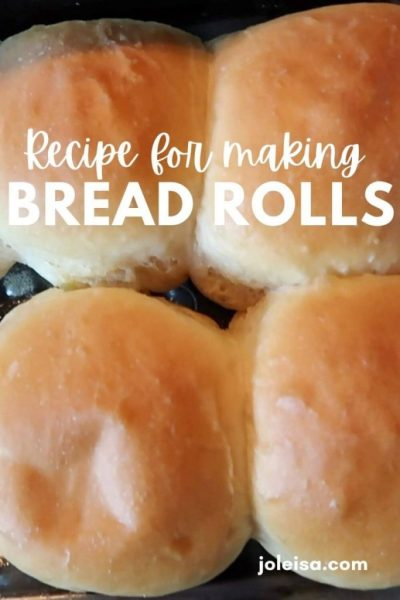 How to Make Beautiful Buttery Bread Rolls