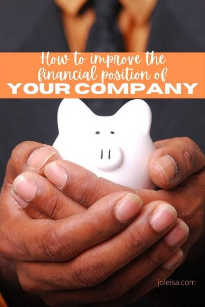 Nine Steps to Improve the Financial Position of Your Company