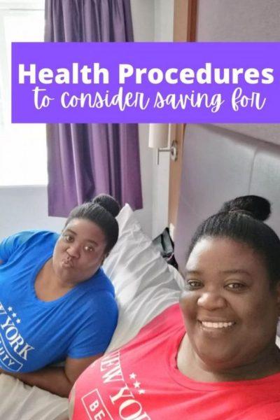 Health Procedures to Consider Saving Money for