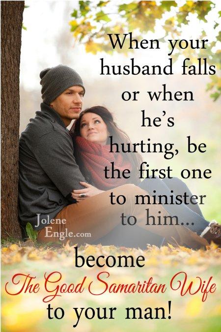 The Good Samaritan Wife by Jolene Engle
