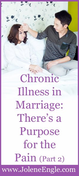 Chronic Illness in Marriage Part 2