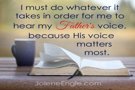 My Father's Voice by Jolene Engle
