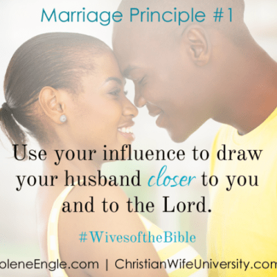 Marriage Principles #1 and #2