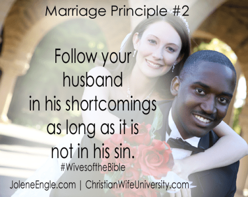 Marriage Principle #2- Wives of the Bible