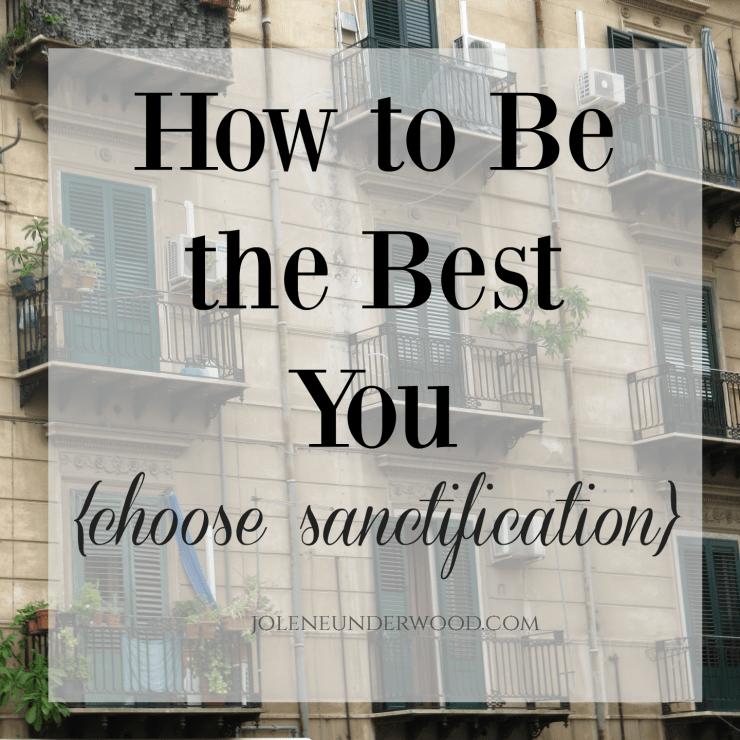 choosesanctification