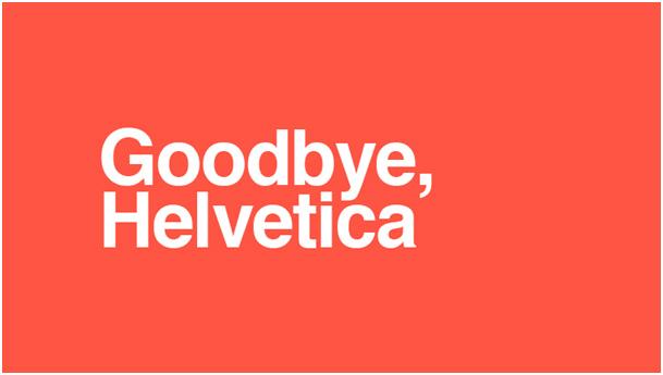 La mort de Helvetica et la montée de la police sur mesure