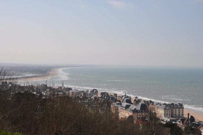 La vue depuis les hauteurs de Houlgate ©Joli.Voyage