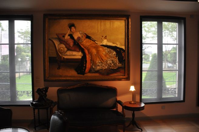 Dans les beaux salons de la Villa du temps retrouvé. ©Joli.Voyage