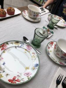 Les petits déjeuners sont fabuleux à la Cotantine. ©Joli.Voyage