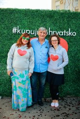 Helena Kalinic, Zijad Gracic i Frana Marija Vrankovic