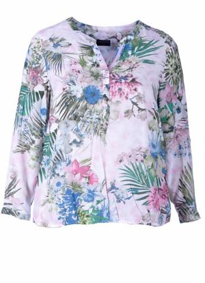 dames kledij fashion grote maten via appia due shirt blouse