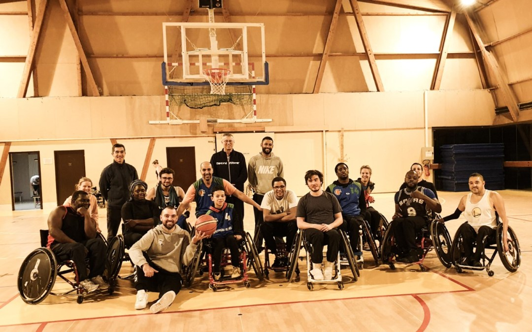 Equipe de basket de l'association ELCV 78