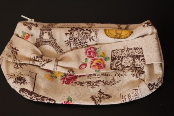 trousse grande taille rose