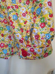 blouse Estelle détail poignet