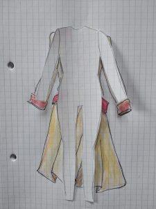 Silhouette et manteau