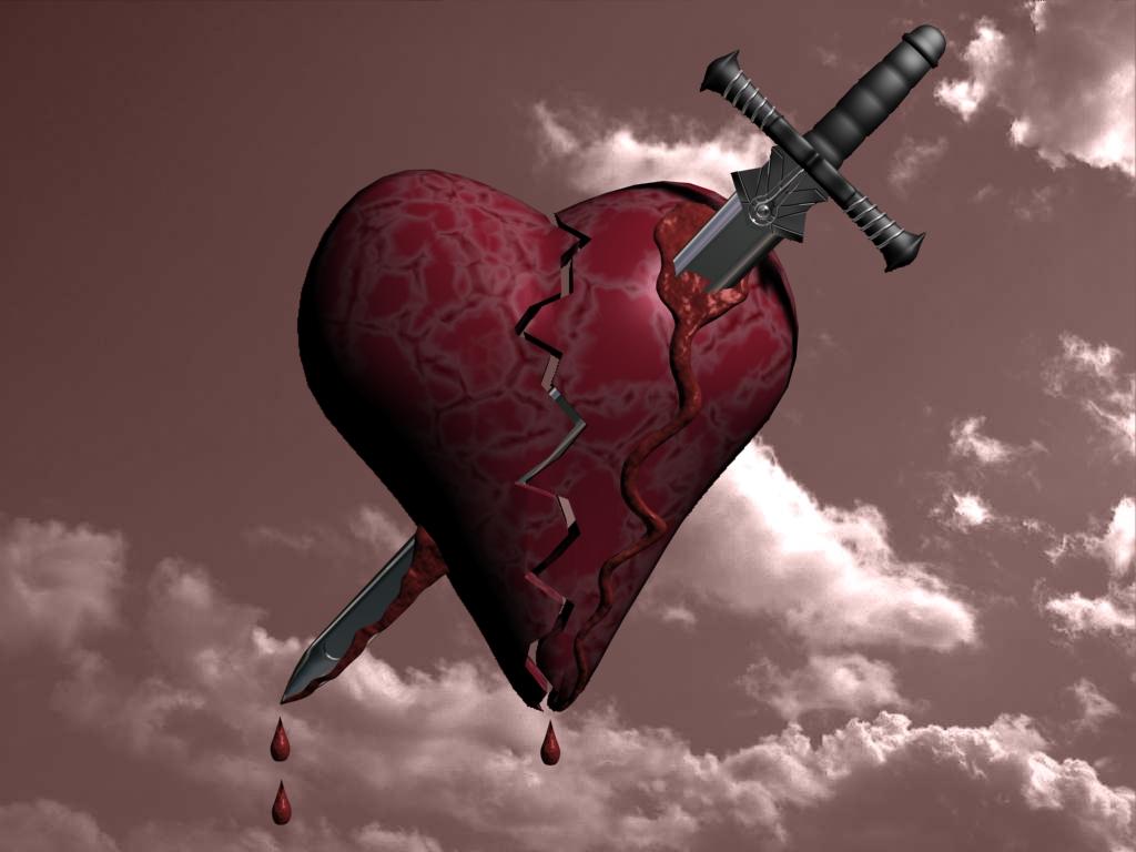 Coeur blessé et brisé