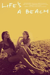 Life's a beach editorial cover for Seen In The City magazine, featuring Jolita Jewellery