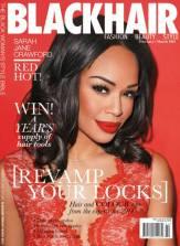 Black Hair mag cover - Feb March 2014