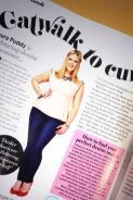 Cosmopolitan August 2013 - Laura Puddy wears St.Tropez necklace by Jolita Jewellery for Catwalk To Curvy column