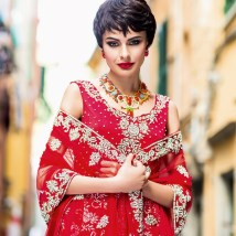 Asiana Summer Weddings 2014 issue - in Medina necklace and Beirut earrings by Jolita Jewellery
