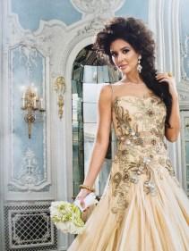 Asiana Weddings - summer 2015 issue, crystal earrings by Jolita Jewellery
