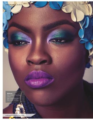 Astounding magazine July 2015 Swimsuit issue - beauty editorial in Jolita Jewellery's statement pieces