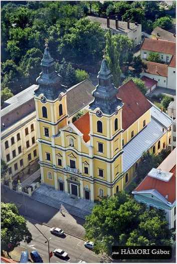 Fentről Debrecen | légifotó